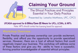 CEU for web. claiming your ground